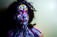 Mibstress 2 (Jef Harris) Tags: portrait lightsandshadows ottawa bodypaint wig facepaint homestudio creativemakeup jefharris