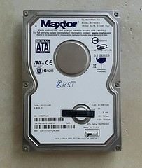 "Maxtor 160GB SATA 3.5"" Hard Drive [20160517_104949] (Amateur Radio Station G4FUI) Tags: 2006 electronics harddrive maxtor computerperipheral"