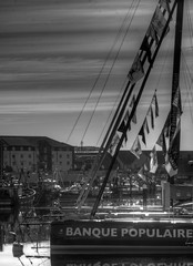 TransAt Yachts 30th April 2016 #17 (JDurston2009) Tags: blackandwhite bw sailing yacht plymouth barbican devon sailingboat suttonharbour transat transatbakerly