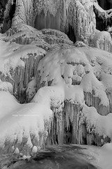 Ice Palace (From The High Country) Tags: winter bw ice waterfall colorado rockymountains icicles frozenwaterfall fromthehighcountry