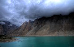 Attabad Lake, Gojal aka Gojal Lake (umairadeeb) Tags: pakistan lake mountains clouds landscape karakoram kkh hunza karimabad hdr landscapephotography karakoramhighway gojal gilgitbaltistan attabad