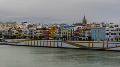 Calle Betis, Triana (andbog) Tags: city houses panorama espaa building architecture river sevilla spain guadalquivir cityscape widescreen sony fiume edificio overcast seville case andalucia es alpha sonya andalusia sel 169 architettura neighbourhood spagna csc citt triana riverbanks oss 16x9 arrabal siviglia nuvoloso ilce sonyalpha mirrorless 1650mm a6000 sony emount selp1650 sonyalpha6000 ilce6000 sonya6000 sonyilce6000 sony6000 6000