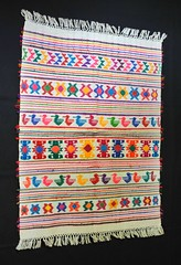 Mixtec Weaving Oaxacan Coast Mexico (Teyacapan) Tags: costa mexican textiles oaxacan mixtec weavings tejidos donluis pinotepa