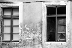 ghosts of the past (Peter87300) Tags: bw nikon urbandecay streetphotography poland 30mm d5100 18105mmf3556gdx