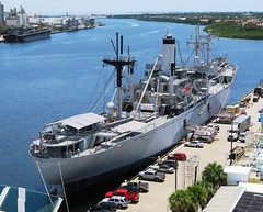 SS American Victory (Hear and Their) Tags: tampa bay ship florida victory ybor channel seas brilliance