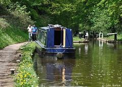 Tyrley lock No3 (Row 17) Tags: uk greatbritain travel vacation england holiday boats boat canal shropshire unitedkingdom britain path transport canals gb locks footpath narrowboat waterway towpath waterways narrowsboats