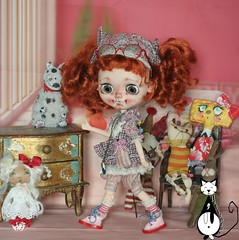 Miss Totote my new blythe for Adoption