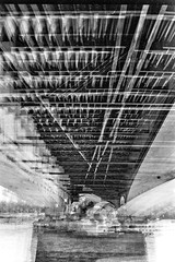 Bonn Sdbrcke (phototobi78) Tags: film self bonn developed multiexposure sdbrcke 7x caffenol leics polypan