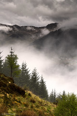 The mist of an angel's breath (lawrencecornell25) Tags: mist mountains nature landscape outdoors scotland highlands scenery cloudy raining glenelg scottishhighlands nikond5
