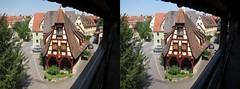 Rothenburtg Germany 3D photo parallel (Stereomania) Tags: germany stereoscopic stereophoto stereophotography 3d stereo stereoview rothenburg duitsland 2015