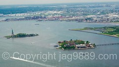 Statue of Liberty on Liberty Island and Ellis Island, Upper New York Bay (jag9889) Tags: nyc newyorkcity usa ny newyork building water statue architecture skyscraper river island newjersey jerseycity unitedstates outdoor manhattan unitedstatesofamerica worldtradecenter sightseeing nj aerialview landmark hudsonriver wtc statueofliberty groundzero immigration lowermanhattan touristattraction 1776 waterway gardenstate ellisisland libertyisland ladyliberty observationdeck bartholdi missliberty hudsoncounty 2016 newyorkharbor freedomtower fredericaugustebartholdi uppernewyorkbay seeforever 1wtc oneworldtradecenter jag9889 oneworldobservatory 285fultonstreet 20160601