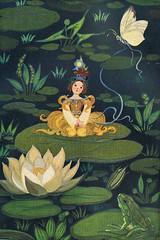 Andersens Märchen / Bild 02 (micky the pixel) Tags: buch book frog teich childrensbook frosch livre andersen märchen hanschristianandersen fairytailes kinderbuch märchenbuch däumelinchen jugendbuch andersensmärchen