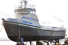 Ocean Scout ~ 65' Oil Spill Recovery Vessel (-jon) Tags: boat ship vessel bayview anacortes washingtonstate barge aluminium samish skagitcounty padillabay rozema oceanscout oilskimmer skimmerboat oilspillresponsevessel cleanseasllc hull1227 oilspillrecoveryvessel