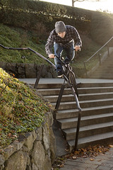 Sam Lowe (jason vawter) Tags: lighting party sun sports bike big bmx action rail skate flare curved noisereduction rimlight