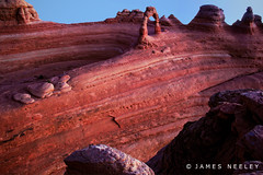 Watchful Waiting (James Neeley) Tags: landscape arches archesnationalpark delicatearch jamesneeley flickr23