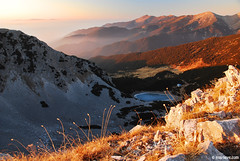 Sinanitsa, Pirin mountain ,     (.:: Maya ::.) Tags: november sunset mountain lake peak hut bulgaria pirin      sinanitsa  mayaeye mayakarkalicheva