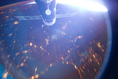 Soyuz Over the Black Sea (NASA, International Space Station, 11/22/11) (NASA's Marshall Space Flight Center) Tags: russia ukraine nasa blacksea soyuz internationalspacestation stationscience crewearthobservation stationresearch