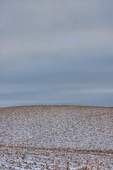 Corn Fields HDR (Ebbs2) Tags: snow field minnesota corn country hill tamron mn hdr photomatix canon40d tamronaf1750mmf28spxrdiiivc