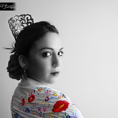 . (Paco Jareo Zafra) Tags: sevillana bailaora mantn peineta pacosrulz tamajare flamencotamara