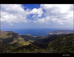 Badia del Port de la Selva (Ull mgic) Tags: mar mediterraneo catalonia girona nubes catalunya costabrava catalua gerona nvols empord mediterrani mygearandme