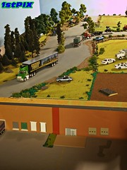 "Country Road  Layout ""Behind the Scenes"" (Phil's 1stPix) Tags: new detail layout miniature country olympus hobby replica greenlight collectible dslr behindthescenes diorama e600 diecast maisto johnnylightning diecastcar highwayscene diecastmodel diecasttruck diecastcollection speccast diecastcollectible 164diecast diecastvehicle 1stpix greenlightdiecast diecastdiorama 164truck 1stpixdiecastdioramas 164vehicle highwaydiorama dioramascene scalehighway 164diorama 164car 164scalehighway roaddiorama trafficdiorama interstatediorama dioramamaker"