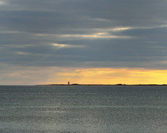 Quiet Bay (dadofliz) Tags: ocean lighthouse clouds day cloudy provincetown capecod massachusetts newengland nikoncapturenx d7000