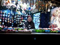 Christmas Market Vendor (XJPHOTO) Tags: philadelphia night lumix olympus vendor lovepark philly 20mm 365 christmasvillage ep2 7365  365