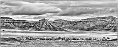 Navajo Country (jbarc in BC) Tags: arizona bw mountains landscape navajo barren blinkagain