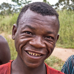 (AfricanButterfly) Tags: portrait teeth filing pointed pygmee