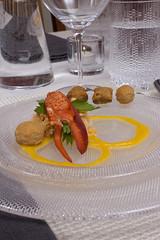 Salad with iittala and Kosta Boda Glass (Didriks) Tags: glass plate lobster appetizer limelight lattice chilewich kostaboda jjgonson