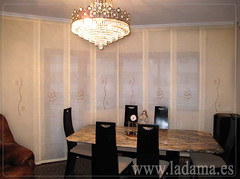 "Decoración para Salones Clásicos: Cortinas con Dobles Cortinas y Bandos, Tapicerías, Paneles Japoneses, Estores... • <a style=""font-size:0.8em;"" href=""http://www.flickr.com/photos/67662386@N08/6476311889/"" target=""_blank"">View on Flickr</a>"