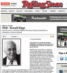 Rolling Stone Brasil (Ronnie Biggs The Album) Tags: ronnie biggs greattrainrobbery oddmanout ronniebiggs ronaldbiggs