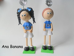 ANA BANANA (Tiaras Ana Banana) Tags: aniversario biscuit criana mesa presentes enfeite portafotos anabanana lembrancinha lembrancinhas anversario portafoto enfeitemesa
