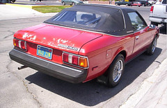 1980 Celica Sunchaser (Pintopower) Tags: red usa toyota 1980 celica sunchaser