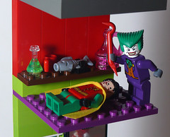 Joker's Funhouse - Level 3 (Oky - Space Ranger) Tags: park carnival house robin fun amusement lego super harley laugh batman joker heroes hyena quin hideout