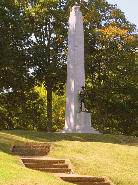 Confederate Monument at Fort Donelson