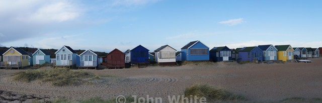 Beach Huts at Hengistbury