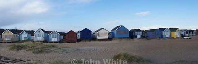 Beach Huts at Hengistbury