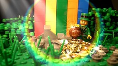 The end of the rainbow (Legoagogo) Tags: england gold rainbow minifig chichester series6