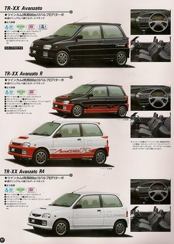 1996 Daihatsu Mira TR-XX Avanzato R4 picture. Daihatsu™ Mira ...