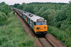 Highland Fifties. (Kingfisher 24) Tags: scotland perthshire stanley class50s 50012 50031 highlandmainline