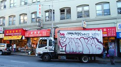 TWIGS, KEYS Graffiti Truck - San Francisco, CA (EndlessCanvas.com) Tags: sf graffiti tags bayarea trucks hcm mime snarl gorse throws besto krime omye