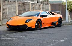 Street Weapon (tWm.) Tags: orange london car nikon thomas super mein atlas nikkor lamborghini arancio supercar f4 dsl sv trax murcielago v12 traxx veloce 24120 traxxx superveloce d7000 v12dsl