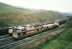 EWS Class 60 60012.37255.59202.08915 - Peak Forest (dwb transport photos) Tags: diesel locomotive tug growler shunter ews peakforest 60012 37255 08915 59202