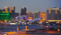 vso44 just after rotation (1l) (pbo31) Tags: city las sunset orange color skyline fly airport nikon december cityscape lasvegas aviation nevada flight motionblur va rotation boeing departure takeoff runway 1l gatwick virginatlantic 747400 2011 mccarraninternationalairport d700 vso44