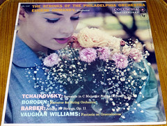 Philadelphia Orchestra Record Cover (3) (Photo Nut 2011) Tags: columbia barber record tchaikovsky philadelphiaorchestra borodin vaughanwilliams stringsofthephiladelphiaorchestra ml5187