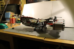 XAMS republic cruiser (rex00991/JRT Studios) Tags: xmas boy 2 6 3 set 1 lego 5 4 7 8 present custom sets 2012 hual rex00991 tepublic