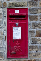 4.15pm (jillyspoon) Tags: red canon 50mm prime elizabeth er post mail time yorkshire wed queen letter postbox delivery service crown postal letterbox royalmail northyorkshire postman grassington niftyfifty 60d canon60d nextcollection