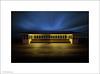 Southport Pier (Ian Bramham) Tags: lighting colour night wooden artificial shelter southport ianbramham southportpierandkids