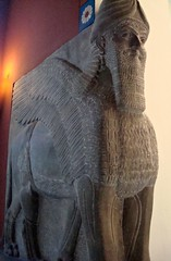 assyrian art (ika_pol) Tags: berlin museum germany geotagged ancient mesopotamia lamassu assyria